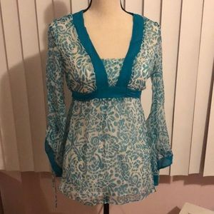 Molly of New York silk top size 4